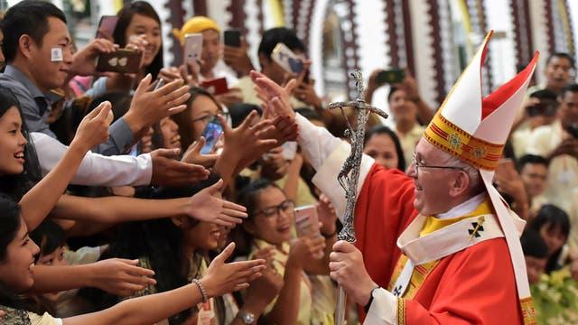 El Papa en Myanmar