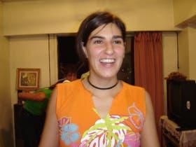 La joven Florencia Pennacchi