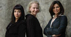Alejandra Peñalva, Miriam Chames y Mariel Di Lenarda disfrutan de lo que hacen y se adaptan todo el tiempo a nuevas exigencias