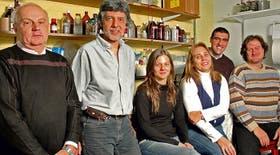 Desde la izquierda: Carlos Baratti, Arturo Romano, Verónica de la Fuente, Gabriela Acosta, Mariano Boccia y Ramiro Freudenthal
