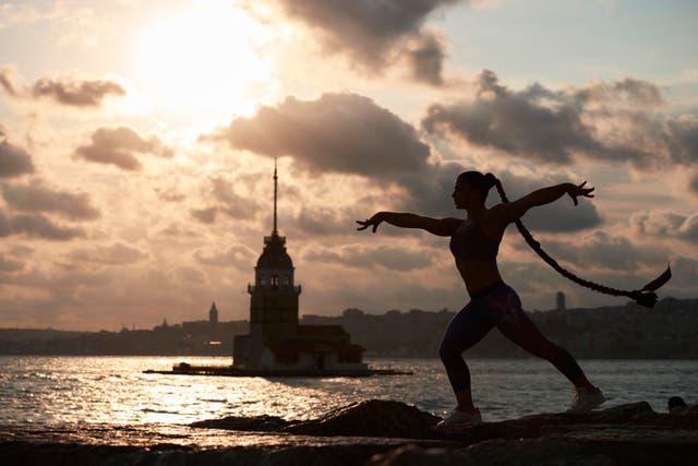 Tutya Yilmaz es la gimnasta más joven turca de los Juegos Olímpicos de Río