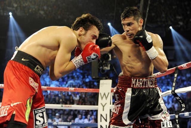 Maravilla, la noche consagratoria en Las Vegas ante Chávez Jr: una pelea que movilizó al país