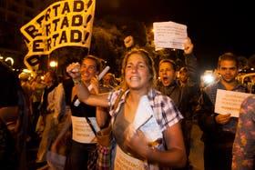 Masiva protesta contra el Gobierno