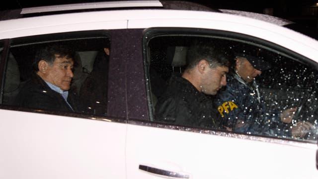 Carlos Zannini fue detenido en Río Gallegos por la Policía Federal