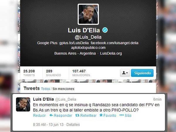 El polémico tuit de Luis D''Elía