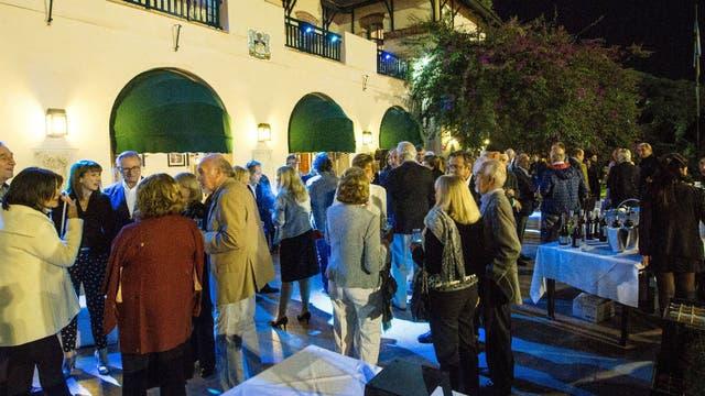 La celebración en la terraza del BALTC en la noche del sábado