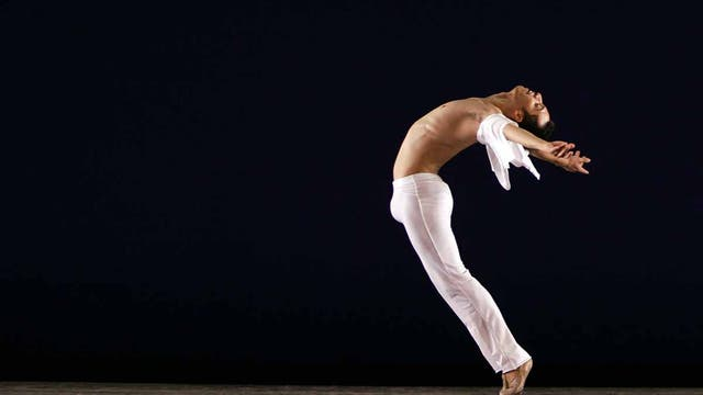 Un bailarín del Ballet de Monterrey, en México, en el New York City Center