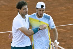 Rafa y Pico celebran el pase a semifinales
