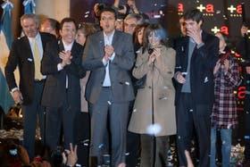 Acto de lanzamiento del Frente Renovador encabezado por Sergio Massa