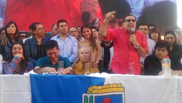 Beder Herrera defendió a Menem