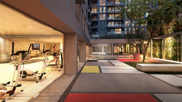 Se organizará en torno a dos patios internos, con cinco halls independientes con 3 ascensores.