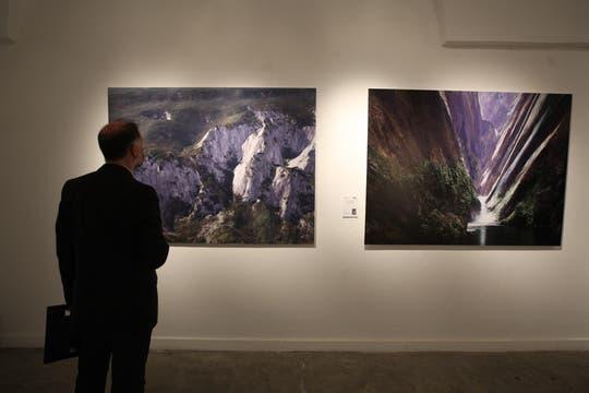 Se presentó para al público la muestra Buenos Aires Photo en el Centro Cultural Recoleta. Foto: LA NACION / Hernán Zentero
