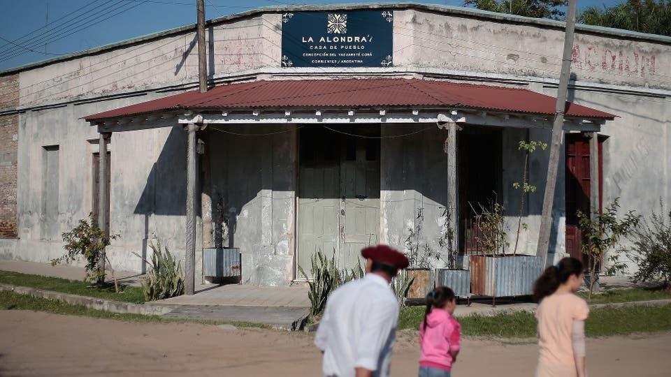 El pueblo tiene 220 años del que los jóvenes migraban por falta de oportunidades. Foto: LA NACION / Diego Lima / Enviado especial
