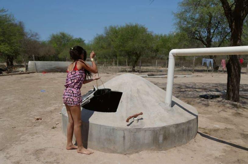 En Candelaria, hay más de 100 cisternas para abastecer a unos 500 habitantes