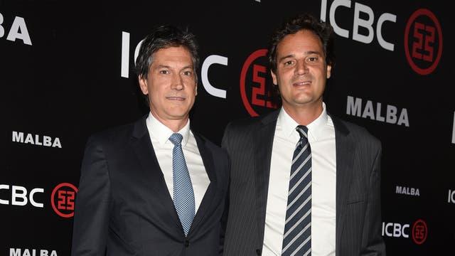 Andrés Lozano y Christian Blousson, Gerente de Marketing y Comunicaciones.