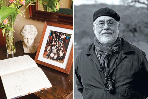 Francis Ford Coppola, en su viñedo de Nappa. Jardín Escondido es uno de sus tantos hoteles boutique, que se encuentran en lugares paradisíacos como Belice, Guatemala o Nueva Orleans..