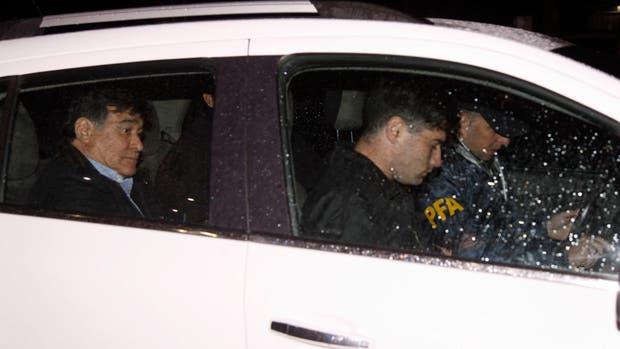 Carlos Zannini fue detenido en Río Gallegos