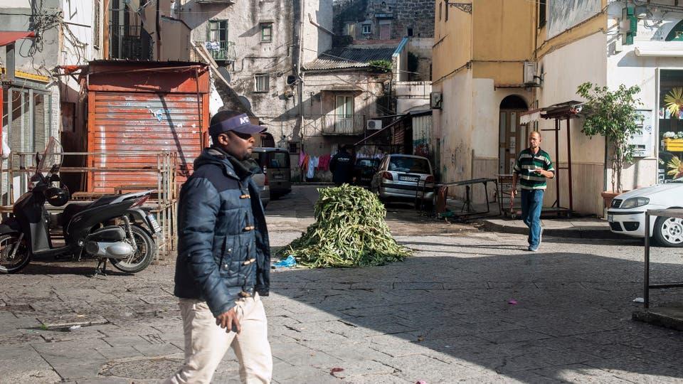 El barrio de Ballarò, escenario de conflictos