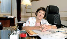 La doctora Elena Highton de Nolasco, primera mujer en ser designada para integrar la actual Corte Suprema de Justicia de la Nación, de la que además es vicepresidenta
