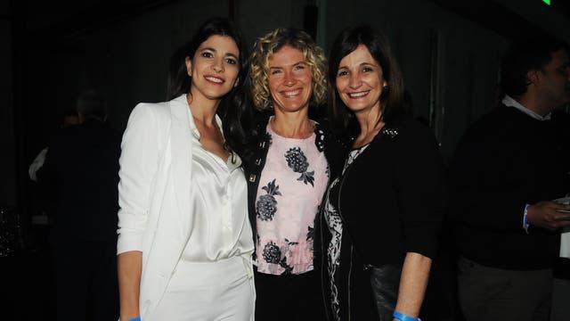 Eleonora Cole, Maru Botana y Vicky Cole. Foto: LA NACION