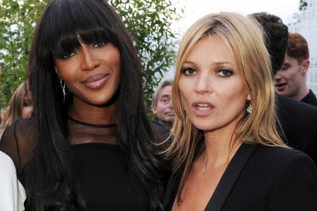 Naomi Campbell y Kate Moss, ahora editoras