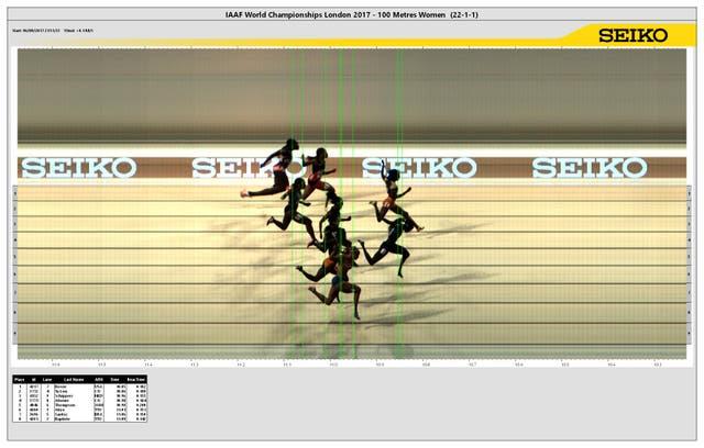 Estadounidense Tori Bowie sorprende y gana los 100 metros