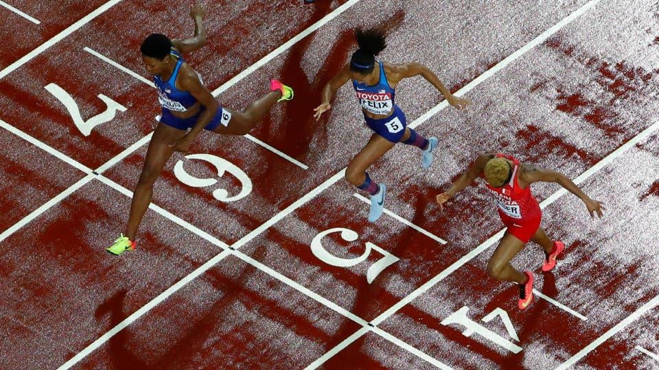 Atletismo - Campeonato Mundial de Atletismo - Final de 400 metros femenino - London Phyllis Francis, de los Estados Unidos, gana la final. Foto: Reuters