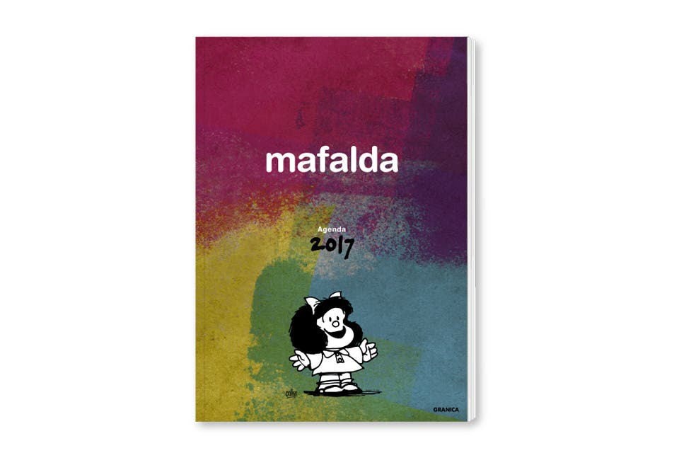Encuadernada Mafalda (Granica, $ 279). Foto: OHLALÁ!