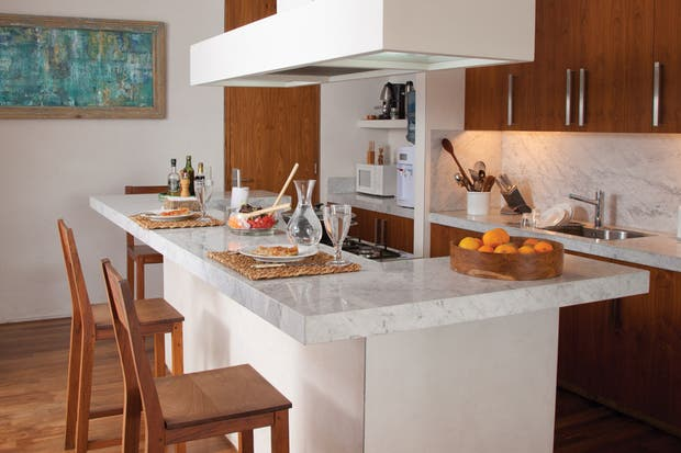 Mesadas opciones a la hora de equipar tu cocina  Living  ESPACIO