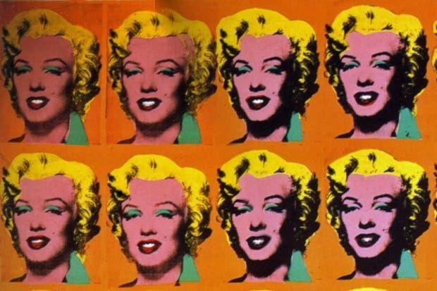 """""""20 Marylins"""", pintura de Andy Warhol ."""