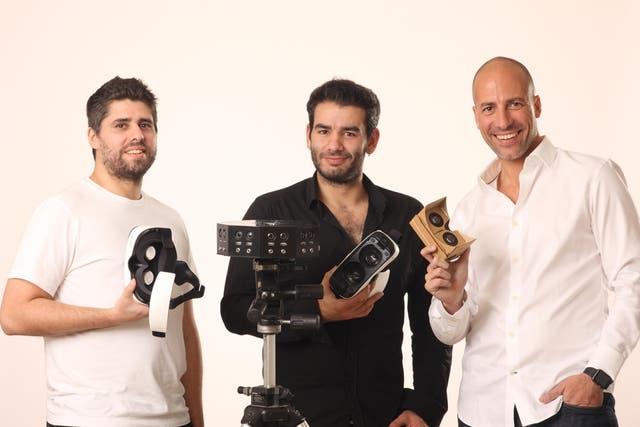 Guillermo Kelly, Federico Gonzalez y Facundo Diaz, creadores de Vrtify
