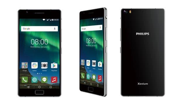 El Philips Xenium X818 tiene una batería de 3900 mAh