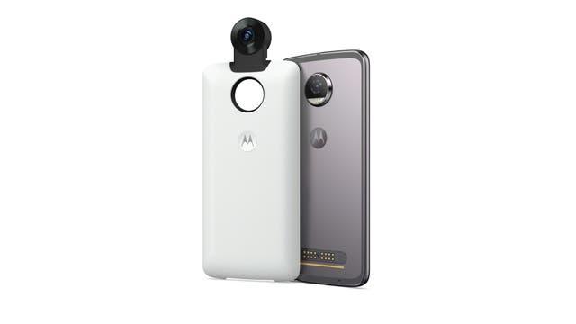 El módulo Moto 360 Camera, el nuevo módulo de Motorola para tomar fotos y videos panorámicos
