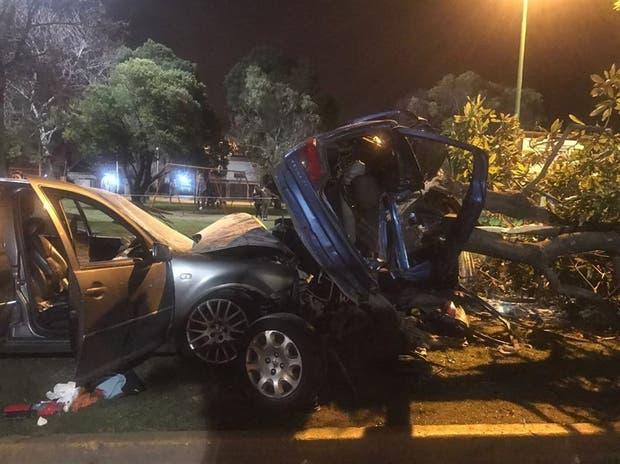 Escena dantesca: en la noche del viernes, dos jóvenes murieron en la avenida 32