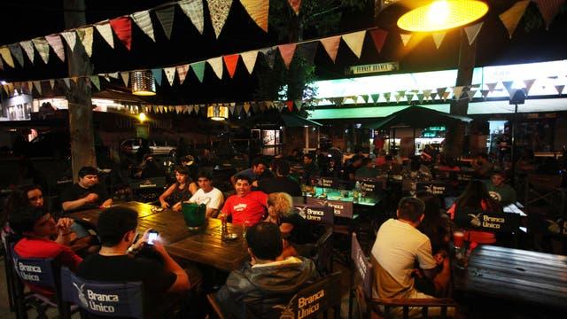 Mama Kocha Bar, en Pinamar