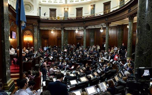 Los legisladores porteños, tras aprobar la ley