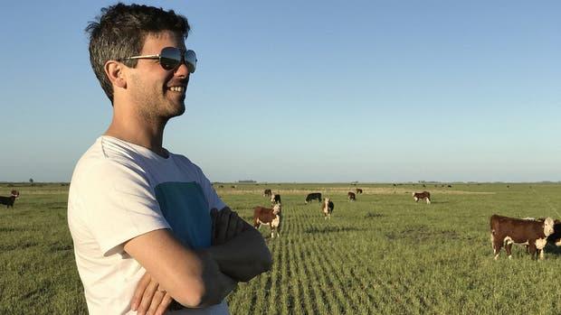 Federico Stange dice que las medidas del gobierno de Mauricio Macri le han permitido volver a trazar planes a largo plazo en su campo de 2.200 hectáreas.