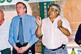 Ledesma y Kirchner, juntos en 2002