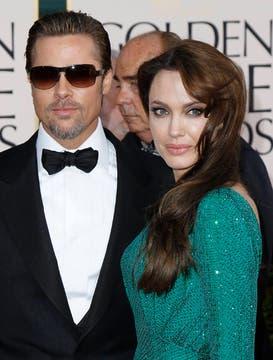 Seductores. Brad Pitt y Angelina Jolie, una pareja que se robó todas las miradas.. Foto: Reuters