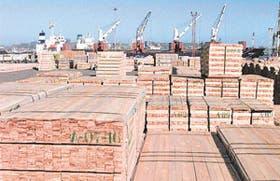 El puerto chileno de San Vicente