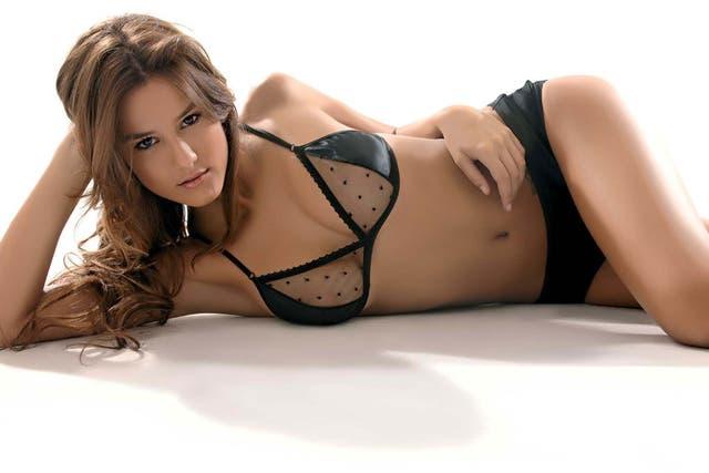 Luli Fernández, la modelo sensual