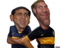 Dos ídolos de la historia de Boca