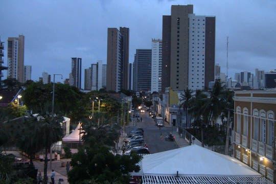 Anochece en Fortaleza. Foto: LA NACION / Carlos Sanzol