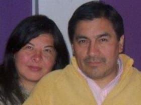 Elena Navamuel y Juan Bejarano