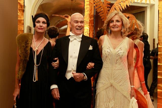 Flavia Martini, Gino Bogani y Cecilia Zuberbühler, algunos de los invitados que respetaron la consigna años 20