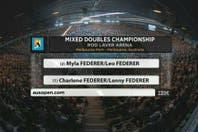 Los Roger juniors: mirá a los hijos de Federer, que empiezan a jugar al tenis