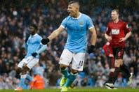 Con un gol del Kun Agüero, Manchester City venció a West Bromwich y se afianza en el cuarto puesto de la Premier League