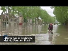 Alerta por el desborde del río Sena en París