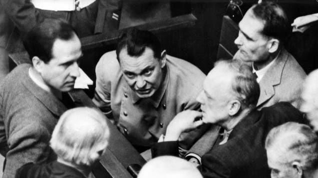 Hermann Goering, juicio de Nuremberg