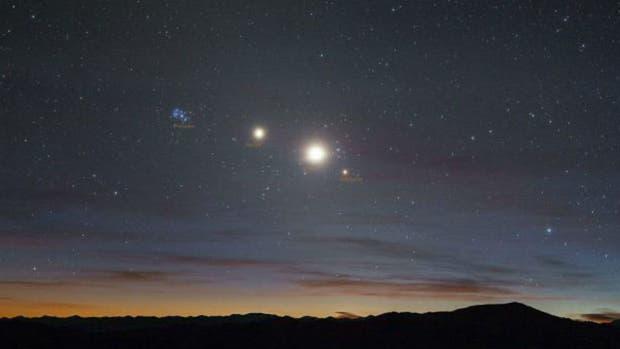 Una alineación planetaria se podrá ver en toda la Argentina